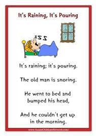 this old man rhymes worksheets rhymes pinterest nursery