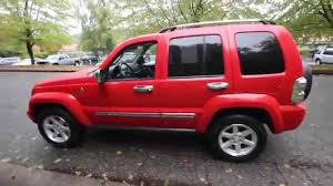 red jeep liberty 2008 2005 jeep liberty limited red 5w606124 kirkland seattle