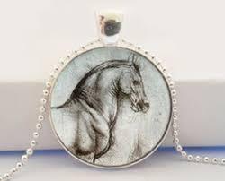 horse glass cabochon necklaces online wholesale distributors
