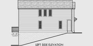 Narrow Lot House Plans With Rear Garage Duplex House Plans Rear Garage House Plans D 518