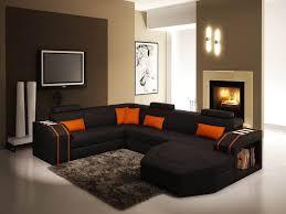canap d co idee deco salon canape noir avec canap canap d angle noir l gant