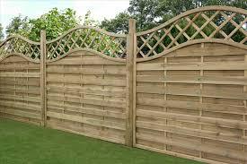 decorative white fence panels home u0026 gardens geek