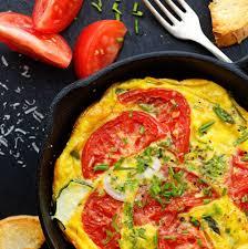 cuisiner à l huile d olive recette omelette aux tomates et à l huile d olive