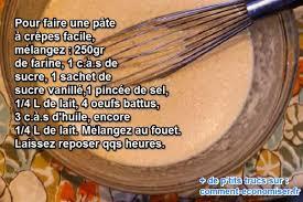 cuisine facile a faire enfin une recette de la pâte à crêpe facile à faire