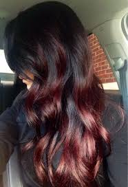 mahogany red hair with high lights burgundy low lights in brown hair red hair red highlights long