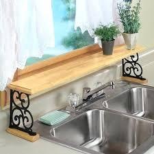 over the sink storage sponge storage ideas over the kitchen sink