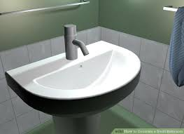 Smallest Bathroom Sinks - 3 ways to decorate a small bathroom wikihow