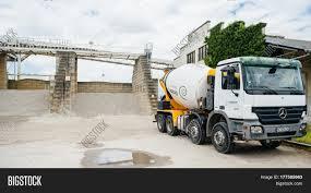 mercedes truck 2016 strasbourg france jun 19 2016 image u0026 photo bigstock