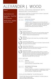 Automotive Resume Examples by Detailer Resume Samples Visualcv Resume Samples Database