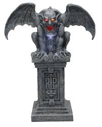 spirit halloween fog machine halloween haunted gargoyle gothic castle tombstone statue with