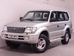 toyota cruiser white used silver toyota land cruiser for sale hampshire