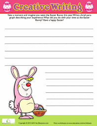 easter writing prompt prompts worksheets and