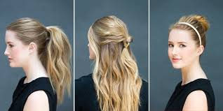 hair you wear 10 easy hairstyles you can do in 10 seconds diy hairstyles