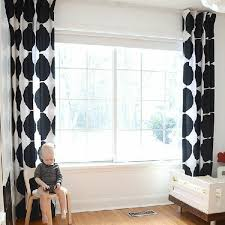 White Black Curtains Modern Curtains Bring Something Special In Your Living Room