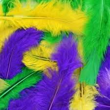 mardi gras feathers decorative plumes and feathers for masquerade masks and crafts