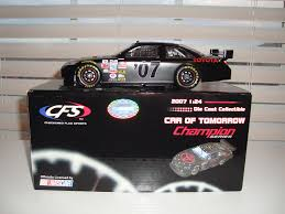 Ford Racing Flag 2007 Cfs Champion Series Cot Black Test Ford 1 24 Nascar New