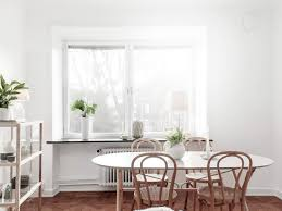 White Kitchen Table by