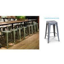 metal drum stool meatl stool furniture pitalbasti moradabad