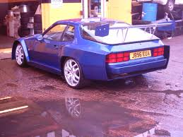 purple porsche 944 gtr latest project in progress