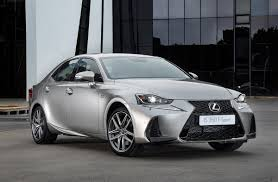 lexus is350 za new look for lexus is sports sedan iol motoring