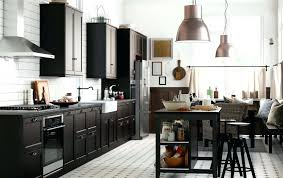 ikea kitchen island with drawers ikea kitchen inspiration a large country kitchen with black brown