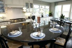 eat on kitchen island breathtaking eat in kitchen island half moon island by home