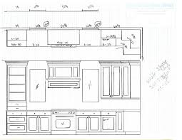 stunning idea kitchen cabinet design drawing designs drawings on