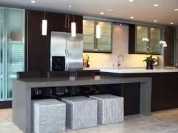 one wall kitchen with island popular one wall kitchen layout with island kitchen ideas
