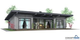 modern home plan affordable home plans affordable modern house plan ch61