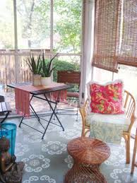 Painted Rug Stencils 26 Best Painted Porch Floors Images On Pinterest Painted Porch