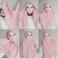 tutorial hijab syar i untuk pengantin pinterest the world s catalog of ideas