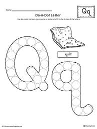learning the letter q worksheet myteachingstation com
