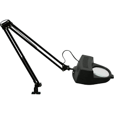 workbench magnifying glass with light magnifier l 4in magnifying glass 60 watts model 23201004