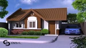 Low Cost House Design by 100 Sqm House Design In The Philippines Youtube