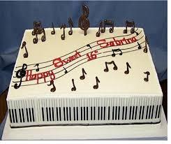 13 best birthday cakes images on pinterest fondant cakes music