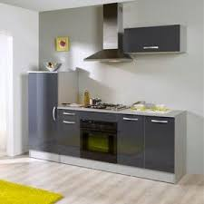 cuisine 2m cuisine complète laquée gris 2 4 x 0 6 x 2 05 m comparer avec