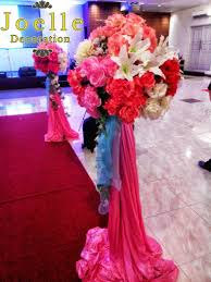 standing flower wedding dekorasi wedding decor standing flower