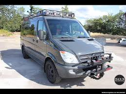 2008 dodge sprinter mercedes outside van conversion photo 1