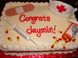 graduation cupcakes ideas nursing themed cakes cake