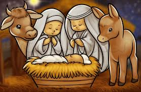 how to draw the nativity step by step christmas stuff seasonal
