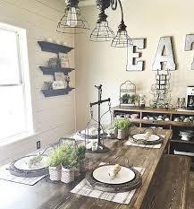 Rustic Dining Room Table Decor Farmhouse Ideas On Pinterest Foyer - Country dining room decor