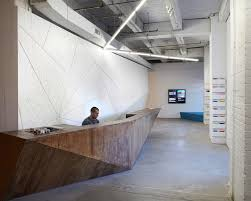 Building A Reception Desk Reception Desks Featuring Interesting And Intriguing Designs