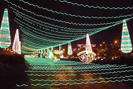 American Flag Christmas Lights World U0027s Best Holiday Lights 10 Decorated Cities