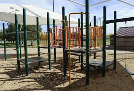 garden acres park playground equipment being removed as part of park