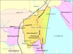 tourist map of new york plattsburgh city new york