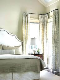 Ideas For Curtains Corner Window Curtain Ideas Bullishness Info