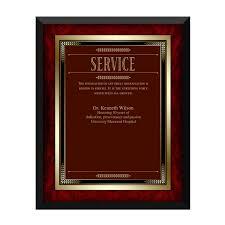 retirement plaques award plaques and custom award plaque engravings successories
