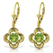 birthstone jewelry for birthstone jewelry for august peridot earrings jclmart