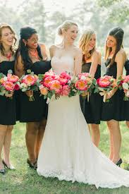 black bridesmaid dresses black bridesmaid dresses archives southern weddings