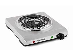 Cooktop Electric Ranges Amazon Com Toastess Thp 517 Electric Single Coil Cooking Range
